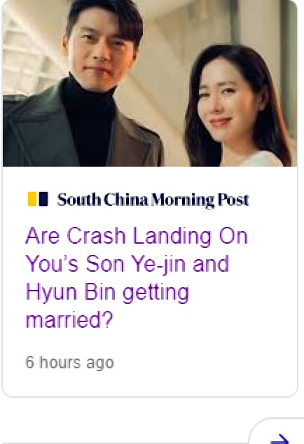 South China Morning Post gives 4 clues that Crash Landing On You's Son Ye Jin and Hyun Bin getting married! 1
