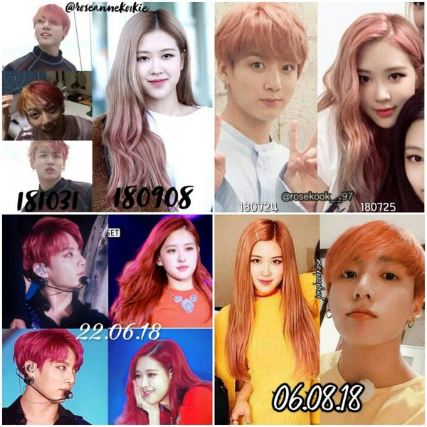 Korean netizens listed out a list of evidence of Jungkook and Rosé dating, causing a storm on the social network Nate Pann! 3
