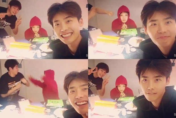 Revealing the 10-year close friendship of the couple Lee Jong Suk and Lee Sung Kyung, closer than a lover!! 3