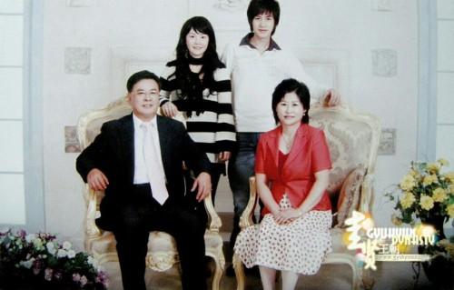 Lee Min Ho's father