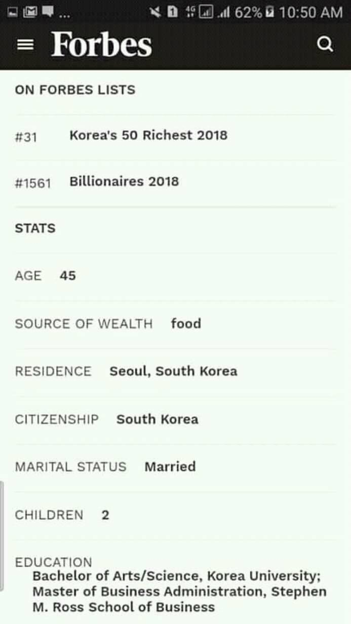 Revealing the mysterious and rich father of BTS's Jin. 2