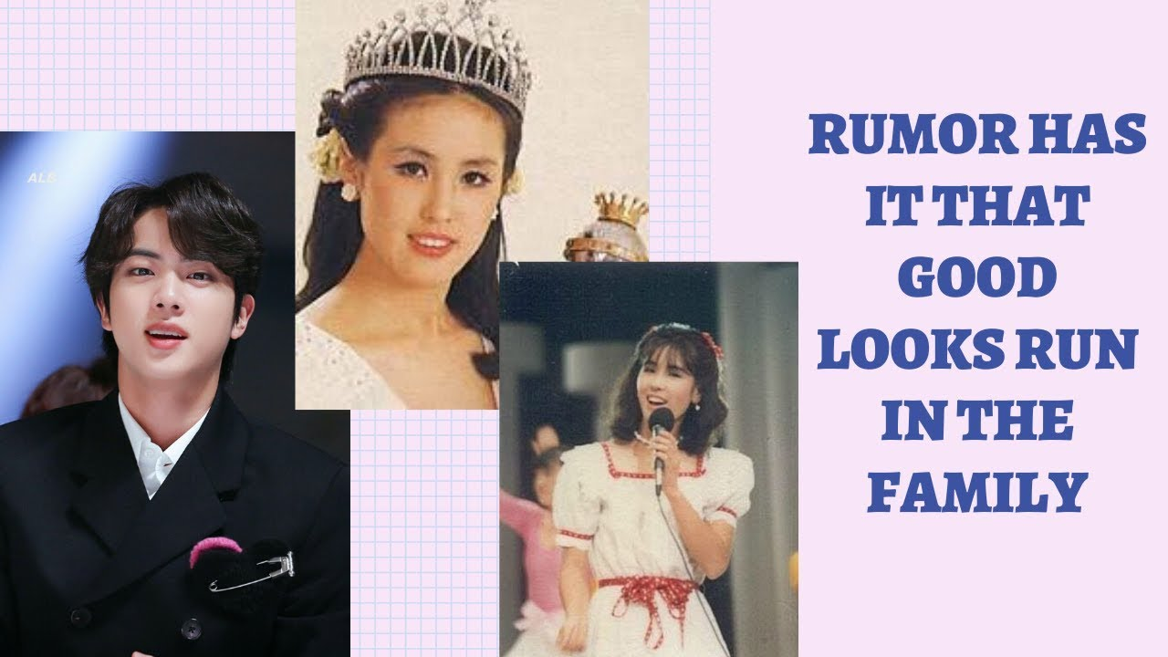 Revealing about BTS JIN's Mom is Beauty Pageant Queen? Jin's mysterious mother is a former Miss Korea! 2