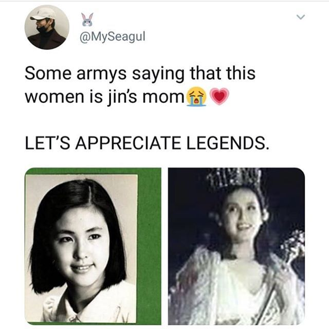 Revealing about BTS JIN's Mom is Beauty Pageant Queen? Jin's mysterious mother is a former Miss Korea! 3