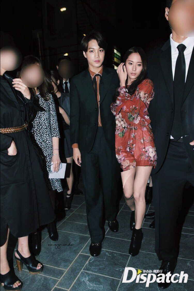 EXO's Kai and Krystal dating again?? Do you believe in second chances after they break up? 5