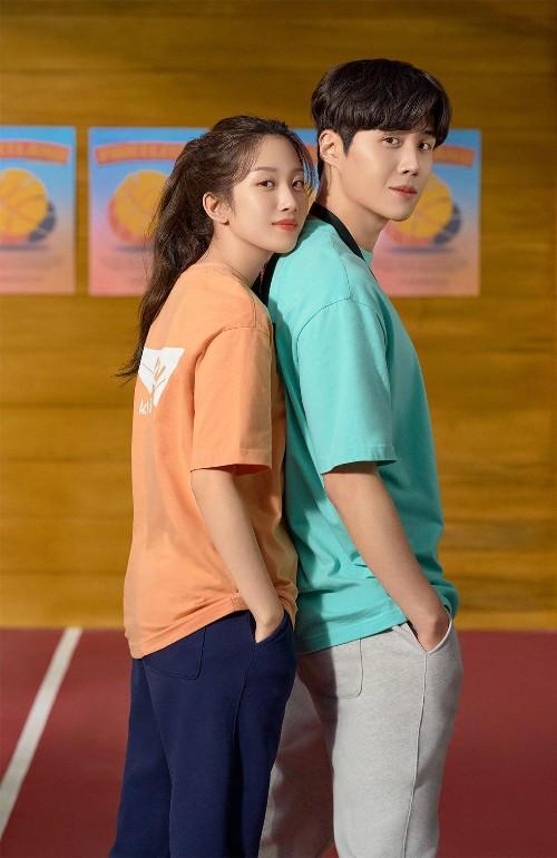 Kim Seon Ho and Moon Ga Young