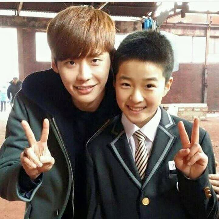 Nam Da Reum played lee Jong Suk Kid in Pinocchio