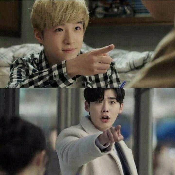 Nam Da Reum played lee Jong Suk Kid in While you were sleeping