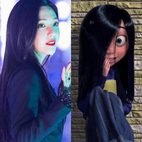 Red Velvet's Joy as Violet