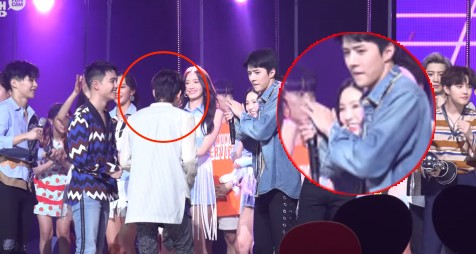 """The """"headache"""" relationship of Taeyeon and Baekhyun after breaking up, Avoid each other despite they are colleagues in management company. 5"""