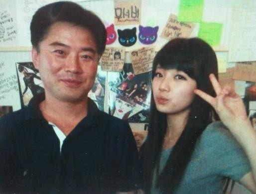 father of Bae suzy