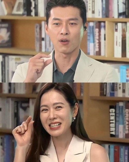 """Social media """"exploded"""" because of the photo of Hyun Bin and Son Ye Jin together at the event for the first time after publicly dating!! 2"""