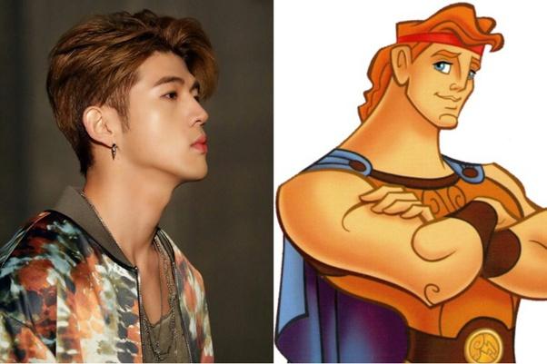 KARD Big Matthew as Hercules
