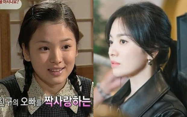 The beauty of 7 Korean stars when they debuted compared to now: Song Hye Kyo hasn't changed for 25 years, Park Bo Young has been forgotten by time? 7