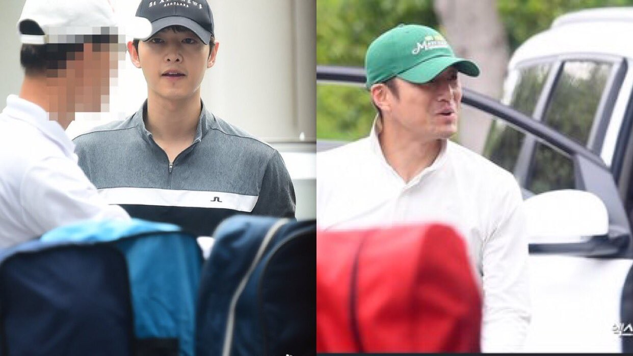 Song Joong Ki sent vitamins to tvN's 'The Road The Tragedy Of One' set to support Ji Jin Hee and the staff in the drama. 2