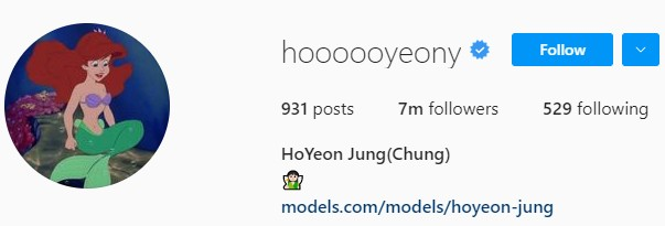 SHOCKING|| Jung Ho Yeon Instagram increased from 617k Follower to 7M Follower after Squid Game!! 2