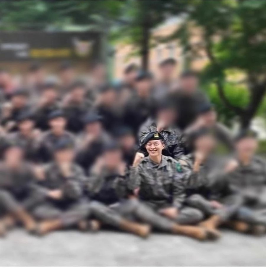 Jang Ki Yong appeared handsome at the military training grounds released 1