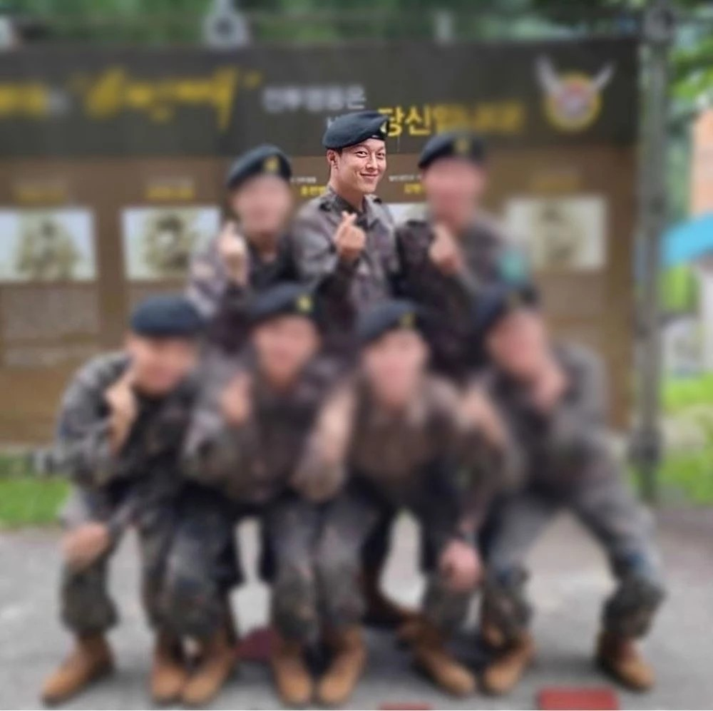 Jang Ki Yong appeared handsome at the military training grounds released 2