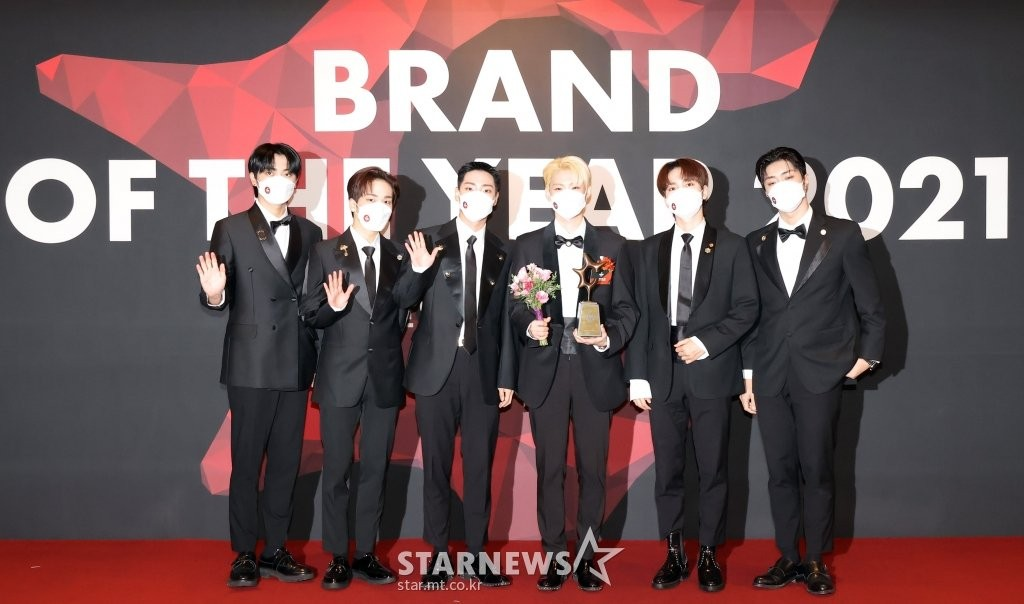 HOT- Cha Eun Woo, Yoo Jae Suk and the stars landed on the red carpet 2021 Brand of The Year Awards!! 5