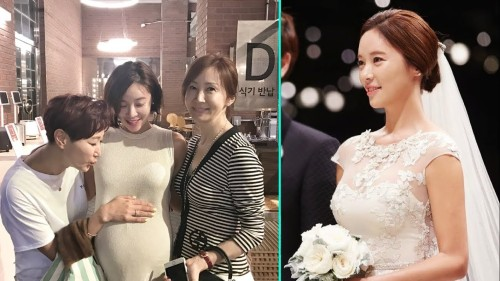 Hwang Jung Eum is pregnant with her second child!
