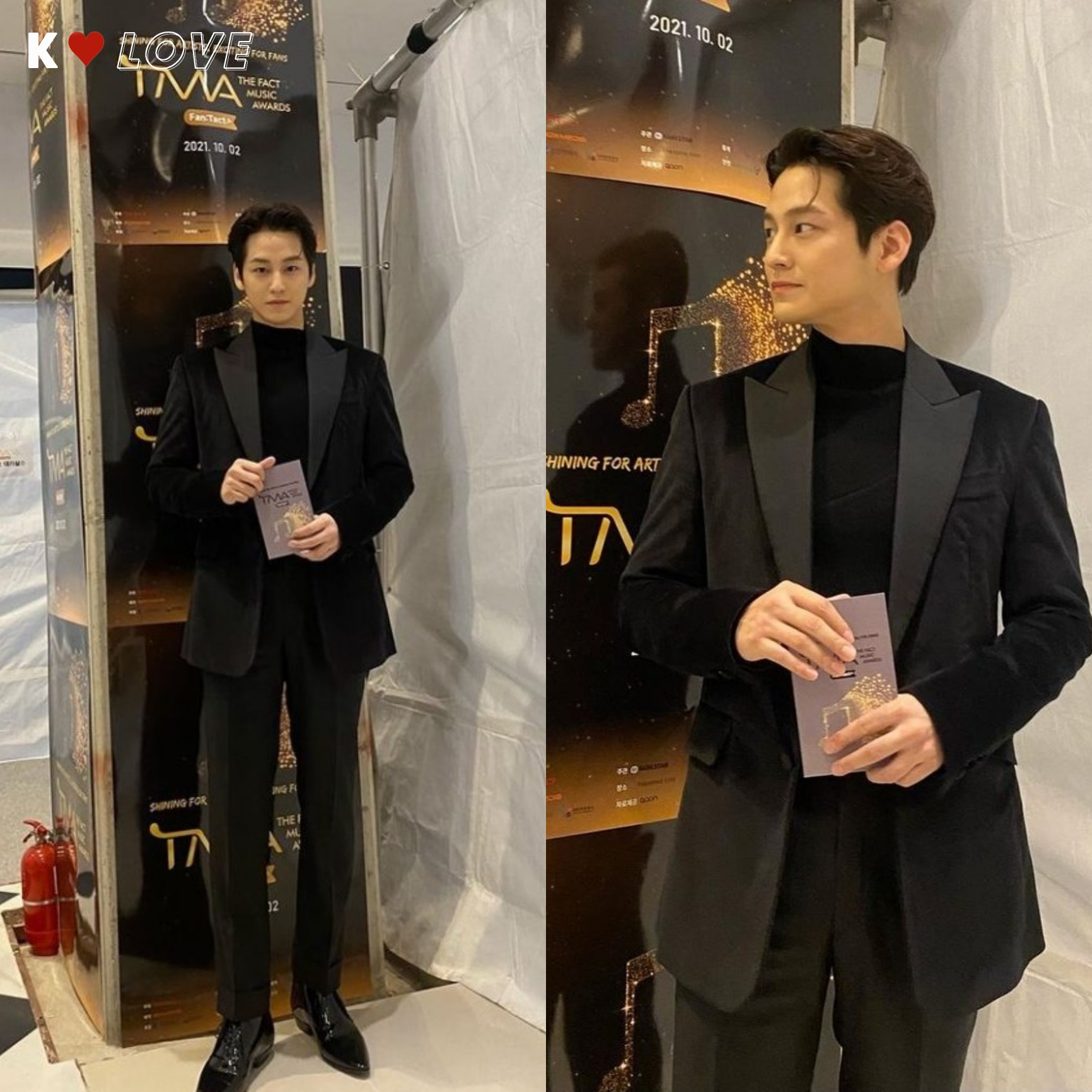 The Fact Music Awards 2021:BTS, Kang Daniel, Kim Bum and the stars explode the red carpet!! 6
